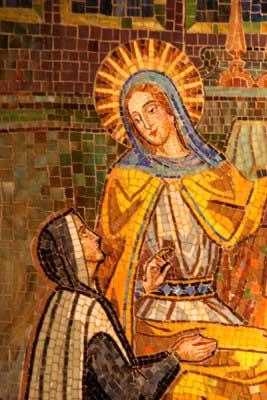 Catherine Laboure Mosaic