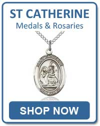 St Catherine of Siena Medals and Rosaries