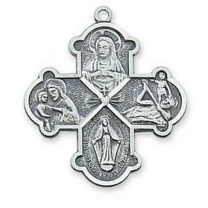 Catholic Four Way Medal 19107