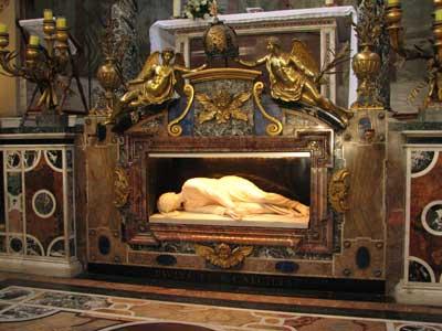St. Cecilia's tomb