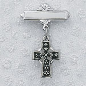 Celtic Cross Baby Pin