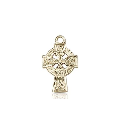 14kt Gold Celtic Cross Medal #87591