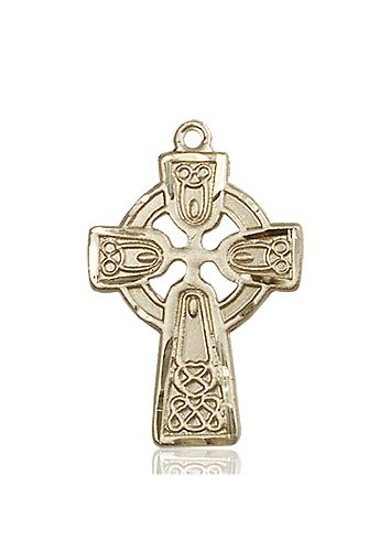 14kt Gold Celtic Cross Medal #87770