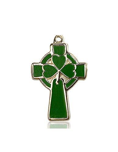 14kt Gold Celtic Cross Medal #87774