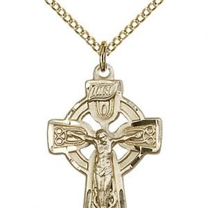 Celtic Crucifix Necklace