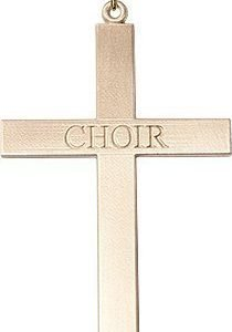 Gold Filled Choir Cross Necklace #87848