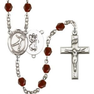 St. Christopher-Figure Skating Rosary