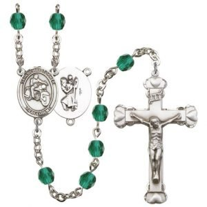 St. Christopher-Motorcycle Rosary