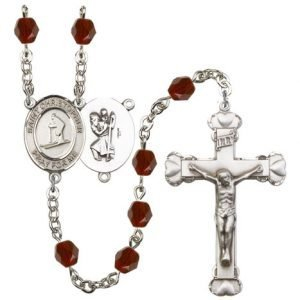 St. Christopher-Skiing Rosary