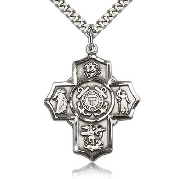 Coast Guard 5 Way Medal