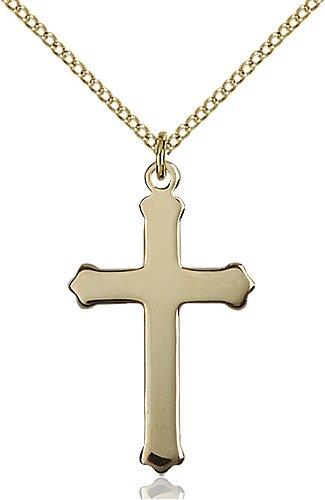 14kt Gold Filled Cross Pendant