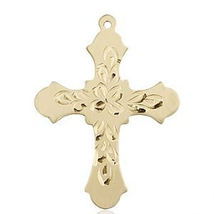 14kt Gold - Coast Guard Pendant
