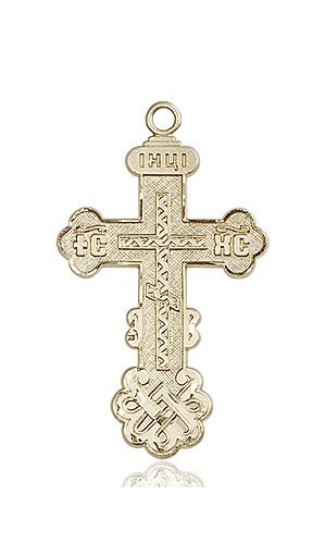14kt Gold Cross Medal #86995