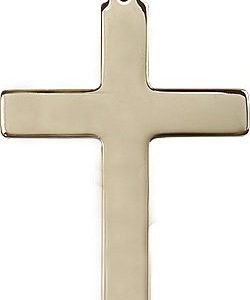 14kt Gold Cross Medal #87382