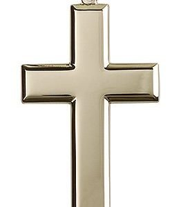 14kt Gold Cross Medal #87458
