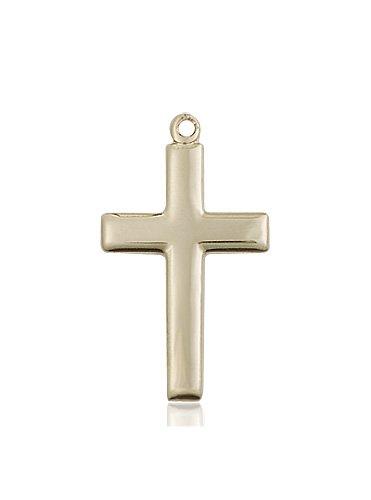 14kt Gold Cross Medal #87486