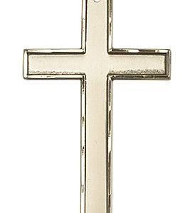 14kt Gold Cross Medal #87782
