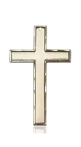 14kt Gold Cross Medal #87782