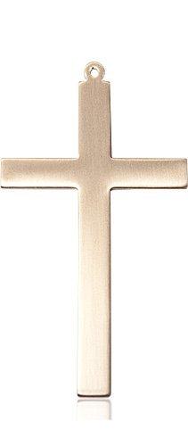 14kt Gold Cross Medal #87854