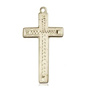 14kt Gold Cross Medal #87914
