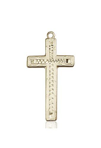 14kt Gold Cross Medal #87914