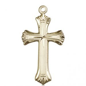 14kt Gold Cross Medal #87954