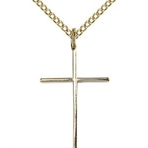 Gold Filled Cross Necklace #86820