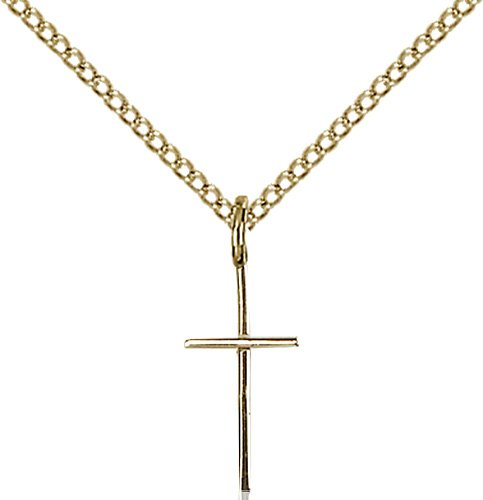 Gold Filled Cross Necklace #86828