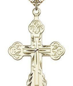 Gold Filled Cross Necklace #86977