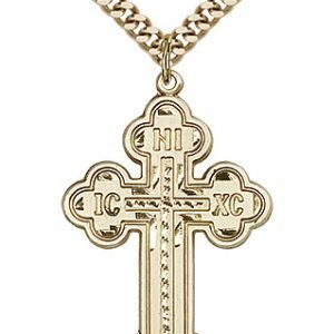 Gold Filled Cross Necklace #87017
