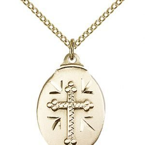 Gold Filled Cross Necklace #87065