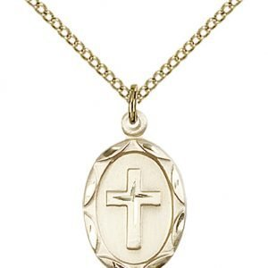 Gold Filled Cross Necklace #87077