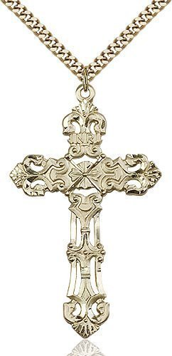 Gold Filled Cross Necklace #87169