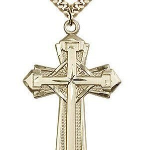 Gold Filled Cross Necklace #87177