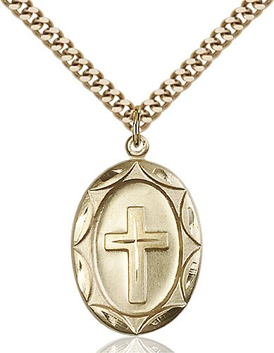 Gold Filled Cross Necklace #87321