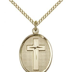 Gold Filled Cross Necklace #87333
