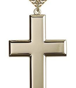 Gold Filled Cross Necklace #87456
