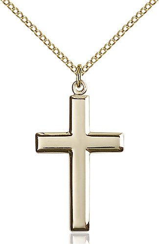 Gold Filled Cross Necklace #87464