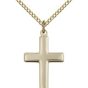 Gold Filled Cross Necklace #87484