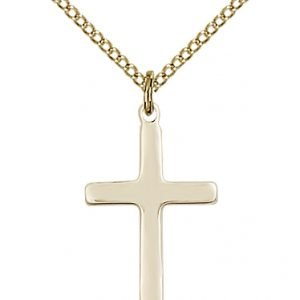 Gold Filled Cross Necklace #87748