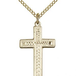 Gold Filled Cross Necklace #87912