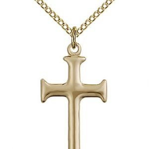 Gold Filled Cross Necklace #87932