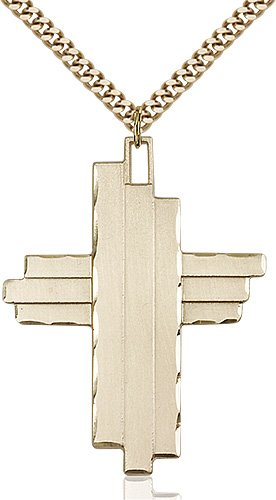 Gold Filled Cross Necklace #88063
