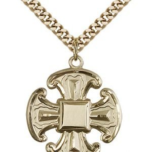 Gold Filled Cross Necklace #88071