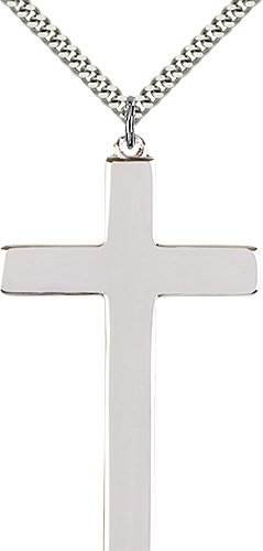Sterling Silver Cross Necklace #87383