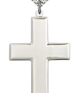 Sterling Silver Cross Necklace #87459