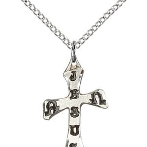 Sterling Silver Cross Necklace #88062