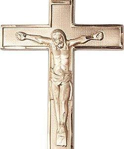 14kt Gold Crucifix Medal #87794