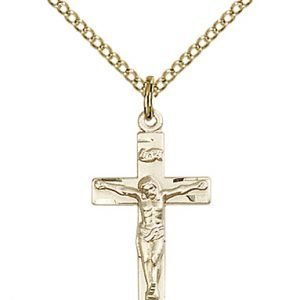 Gold Filled Crucifix Necklace #86796