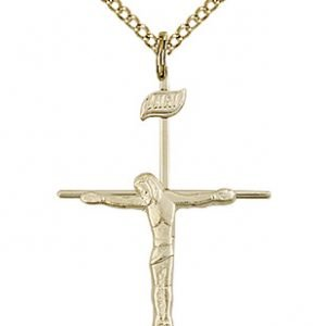 Gold Filled Crucifix Necklace #86804